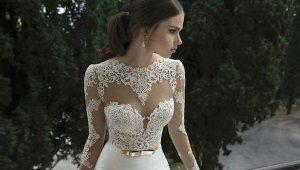 Свадебное платье футляр универсально и изысканно