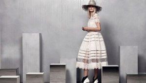 Платье с юбкой колокол – романтичность во всем