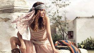 Платья в стиле бохо – символ свободы и богемности