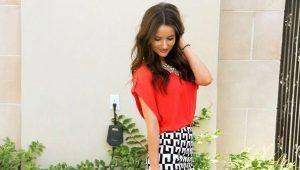 Черно-белые юбки