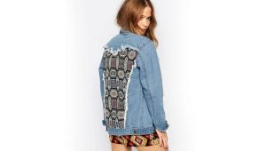 Джинсовая куртка oversize - объемная джинсовка в стиле бойфренд