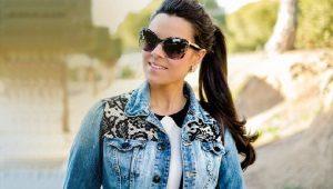 Джинсовая куртка с нашивками – мода циклична!