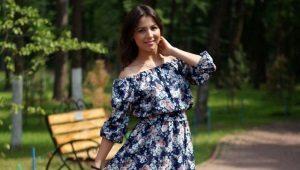 Платье-крестьянка