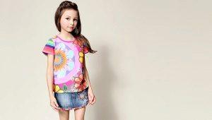 С чем носить и как сшить джинсовую юбку для девочки?