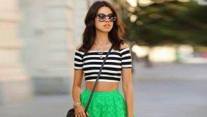 Зеленые юбки
