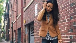 Коричневые пиджаки