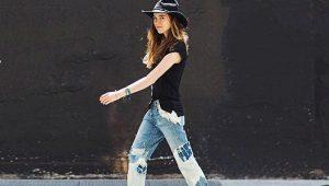 Заплатки на джинсы своими руками