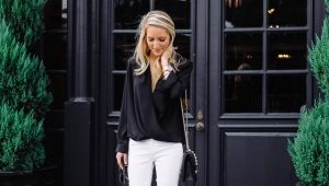 Черные блузки