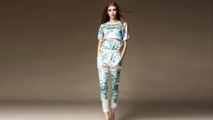 Модные укороченные брюки 2018