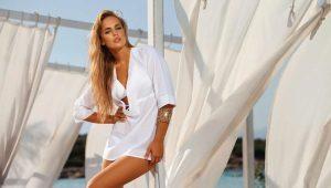 Женские пляжные рубашки