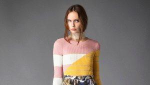 Полосатые свитеры