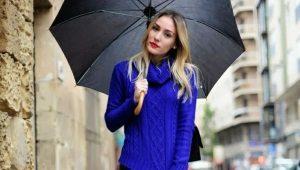 Синие свитеры