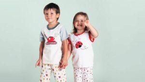 Фланелевые детские пижамы