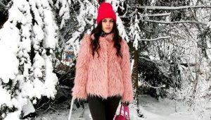 Пальто из ламы