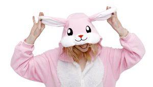 Пижама-комбинезон с капюшоном