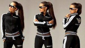 Женский спортивный костюм Armani