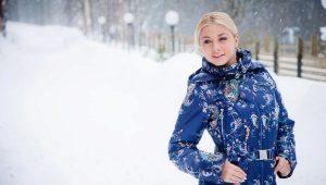 Женский зимний комбинезон