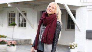 Как красиво повязать шарф?