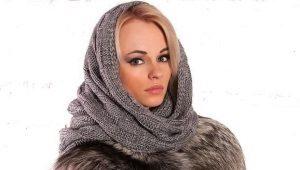 Шапка-шарф