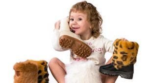 Детские унты для девочек