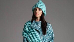 Шапка и шарф: два в одном и как комплект