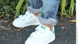 Белые кроссовки для девочки