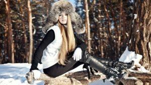 Женские зимние сапоги из натуральной кожи