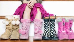 Зимние сапоги для девочек