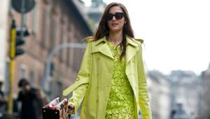 Как сочетать зеленый цвет в одежде?