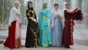 Национальный костюм Дагестана
