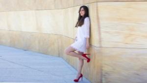 Туфли на платформе и шпильке