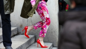 Женские кожаные туфли из Италии