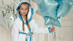 Детский халат с капюшоном
