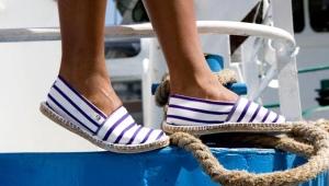 Парусиновые туфли