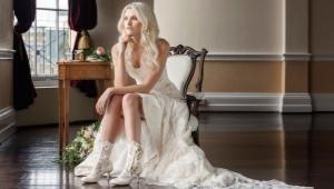 Свадебные ботильоны
