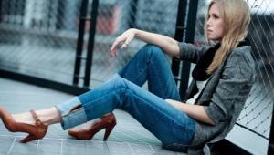 Туфли с ремешком на щиколотке