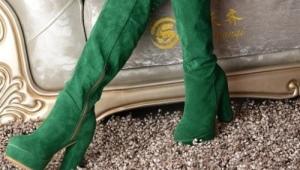Зеленые сапоги