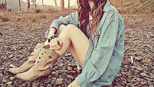 Женские туфли-казаки