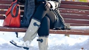 Женские зимние непромокаемые сапоги