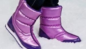 Женские зимние спортивные сапоги