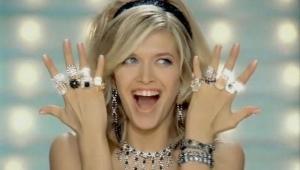 Серебряные кольца с позолотой