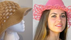 Вязаные шляпы