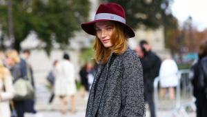 Женская шляпа Федора