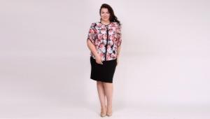 Маричи: одежда больших размеров для роскошных женщин
