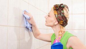 Чем отмыть плитку в ванной?