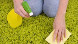 Как почистить ковер в домашних условиях с помощью соды и уксуса?