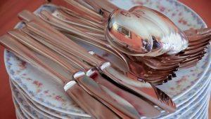 Как почистить вилки и ложки в домашних условиях?