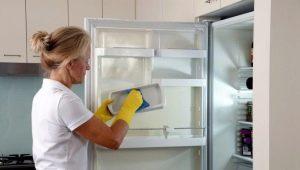 Как помыть холодильник?