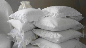 Как постирать подушку?