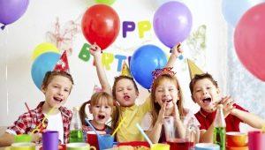 Оформление детского стола на день рождения